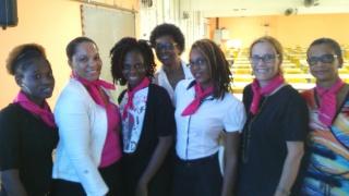 Elles bougent a participé à la 16ème édition de la semaine Ecole-Entreprise en Guadeloupe