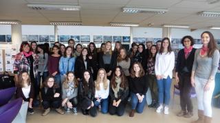 Les SI au féminin au Lycée Léonce Vieljeux à la Rochelle