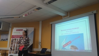 Merci, Amandine ! Fin de stage au CESI Ecully pour la délégation Rhone-Alpes