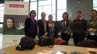 Forum des métiers organisé par l'ENAC