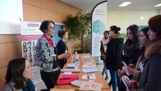 Portes Ouvertes chez Airbus Saint Nazaire : 80 collégiennes et 60 lycéennes et étudiantes découvrent les Métiers de l'Aéronautique au Féminin