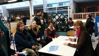 Retour sur... un speed meeting de l'orientation au Lycée Jean Perrin
