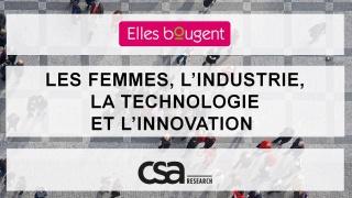 Résultats d'enquête : Quelle place pour les femmes, aujourd'hui et demain, dans l'industrie, la technologie et l'innovation ?