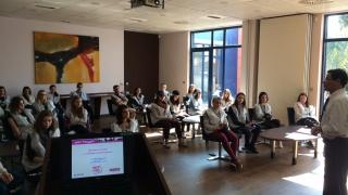 Semaine de l'industrie : Visite chez ALSTOM Aytré (17)