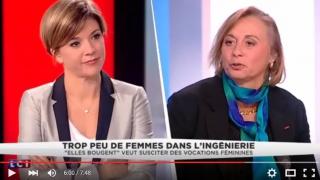 Marie-Sophie Pawlak, Présidente-fondatrice Elles bougent, interviewée sur LCI le 8 mars 2016