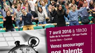 Finale de l'université Paris-Saclay pour le concours