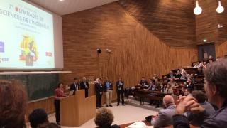 Remise du trophée Haute Technologie aux Olympiades des SI, INSA Lyon
