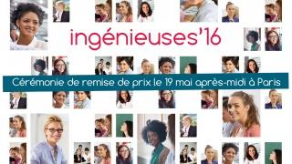 Ingénieuses'16 : les nominées sont...