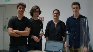 Les 6ème Olympiades de Sciences de l'Ingénieur le 13 Avril dernier