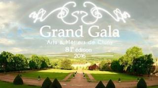 Marie-Sophie Pawlak, présidente d'honneur du Grand Gala de Cluny 2016