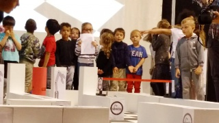 Elles bougent au 1er challenge Skyrob d'Élancourt