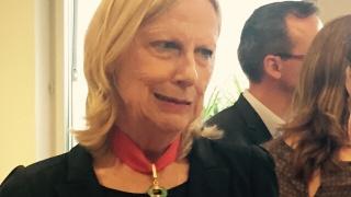 Brigitte Grésy, Commandeure de la Légion d'honneur