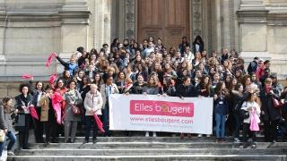 Top départ pour le Rallye des métiers de l'Académie de Paris, avec les marraines de l'association Elles bougent