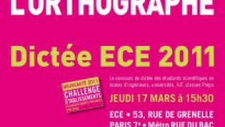 Dictée ECE 2011