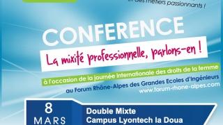 Elles bougent pour le 8 mars au 32e Forum Rhône-Alpes des Grandes Ecoles d'Ingénieurs