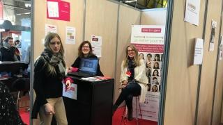 Elles Bougent au salon de l'étudiant à Poitiers 2017