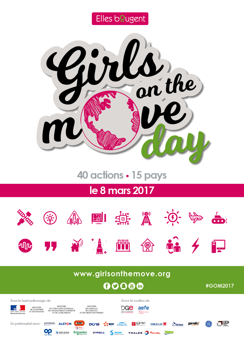 Girls on the Move Day : 15 pays, plus de 40 actions, 2000 filles