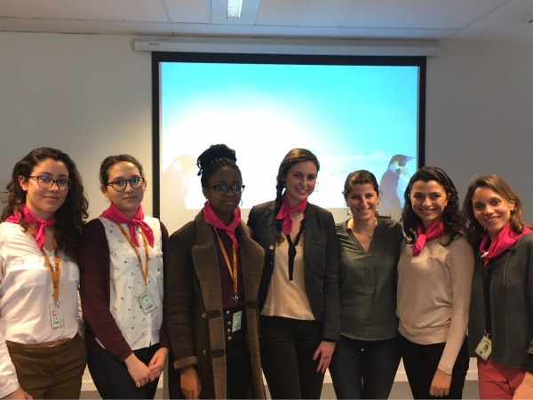 Rencontre avec Déborah Pardo à Gemalto pour le Girls on the Move Day 2017
