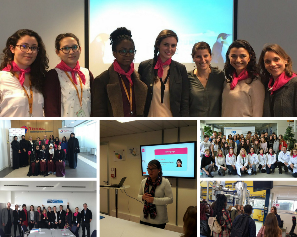 Girls on the Move, toutes les actions aux 4 coins du globe