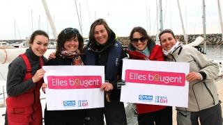 Women's cup : 1ère place pour l'équipage Elles Bougent!