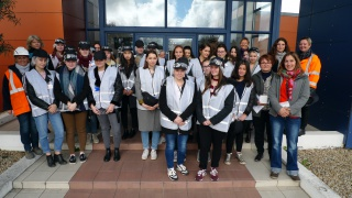 Semaine de l'industrie - Visite chez ALSTOM à Aytré (17)
