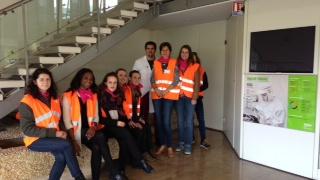 Visite du site Valéo à Reims pour des étudiantes de l'UTT de Troyes - 4 mai 2017