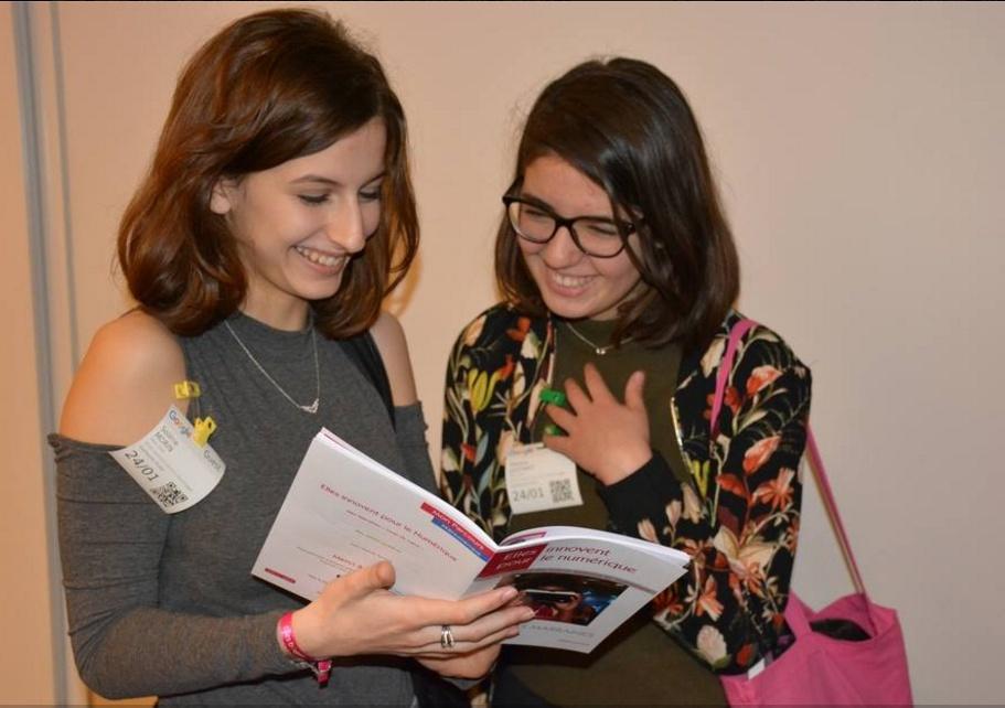 Témoignage de deux lycéennes sur la journée Elles Bougent pour le numérique