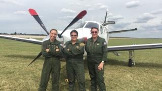 Témoignage de Marion, pilote de chasse et marraine Elles Bougent