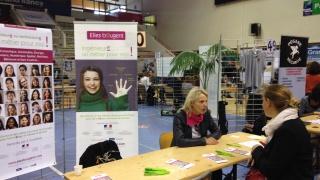 Elles Bougent Lorraine au Forum de recrutement Vand'Emploi