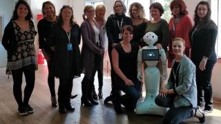 Elles Bougent souhaite la bienvenue à Softbank Robotics!