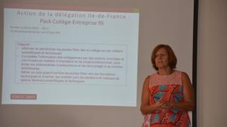 La délégation régionale Elles Bougent en Ile-de-France Claudine Barruet