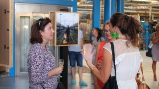 Elles bougent au vernissage de l'exposition photo