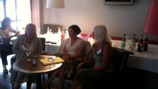 Elisabeth Tomé-Gertheinrichs, invitée d'honneur à l'Happy hour
