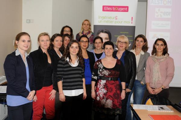 Florence, membre du Bureau de la délégation Elles Bougent en Rhône-Alpes