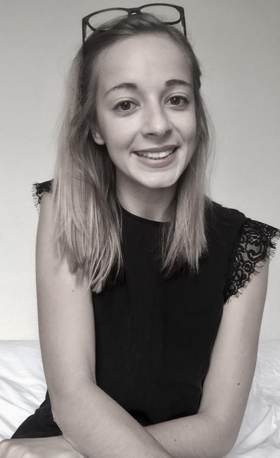 Manon Debray, marraine étudiante Elles Bougent