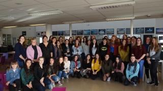 Les SI au Féminin au Lycée Léonce Vieljeux de La Rochelle