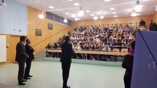 Les SI au Féminin au Lycée Edouard Branly de Châtellerault