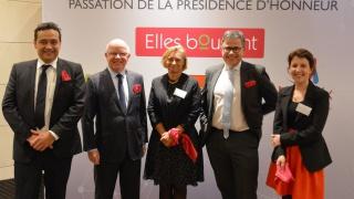 Cérémonie de passation de présidence d'honneur Elles Bougent 2017-2018