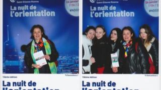 Elles bougent à la Nuit de l'orientation à la CCI de Lyon
