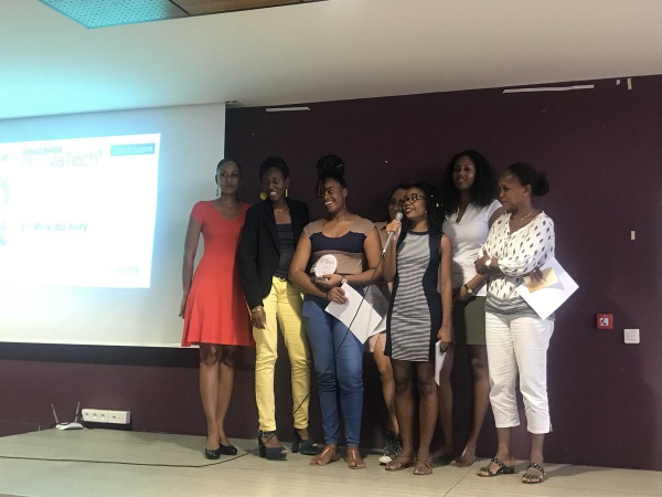 Challenge InnovaTech Martinique : l'équipe rouge finaliste FOOD'I PRETTY