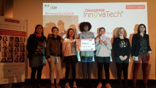 Equipe Thermeco finaliste Picardie challenge InnovaTech 2018