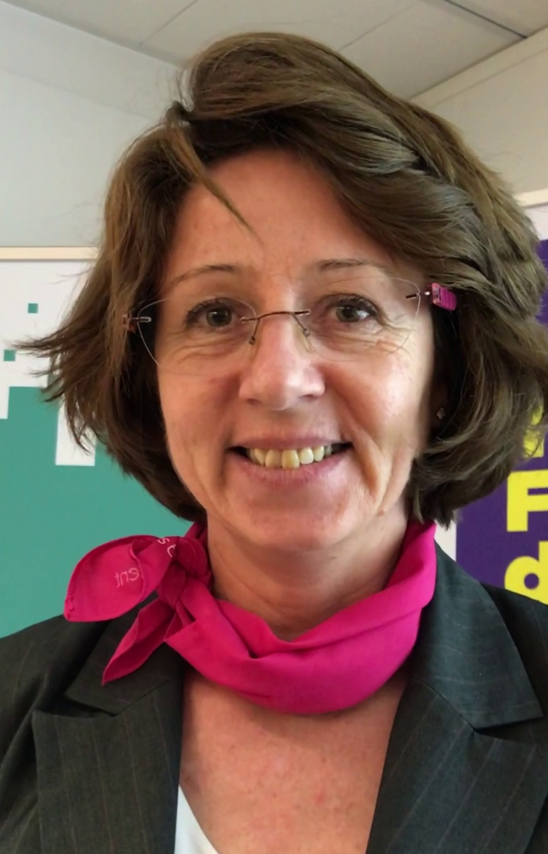Témoignage Muriel, marraine GE, au challenge InnovaTech Ile-de-France 2018