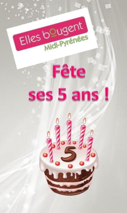 La délégation régionale Elles Bougent Midi-Pyrénées fête ses 5 ans
