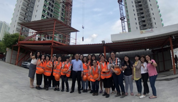 Girls on the Move Week 2018 : Visite Bouygues Construction à Singapour