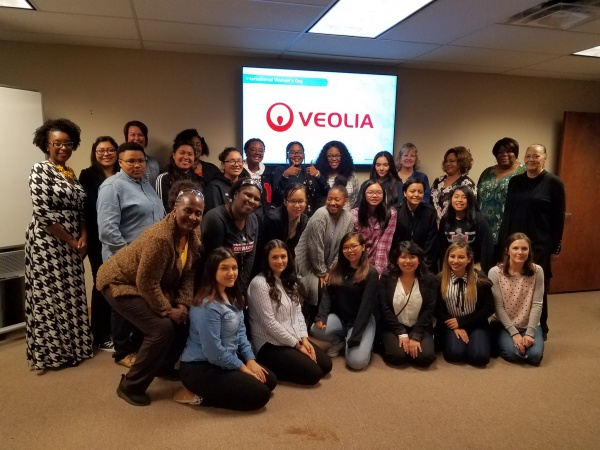 Girls on the Move Week 2018 : visite Veolia North America Houston