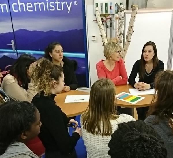 Girls on the Move Week 2018 : visite Solvay Aubervilliers