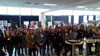Découverte de Airbus Saint-Nazaire pour 100 collégiennes et lycéennes