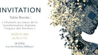 Invitation Passer'elles le 31 mai à Lyon.