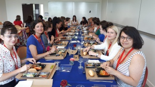 Rencontre marraines i-BP et étudiantes à l'ESEO d'Angers le 24 mai 2018