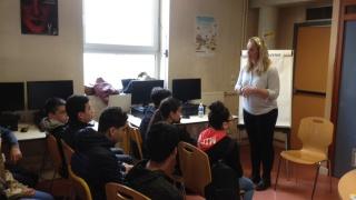 Elles Bougent participe aux journées du numérique au Lycée Loritz